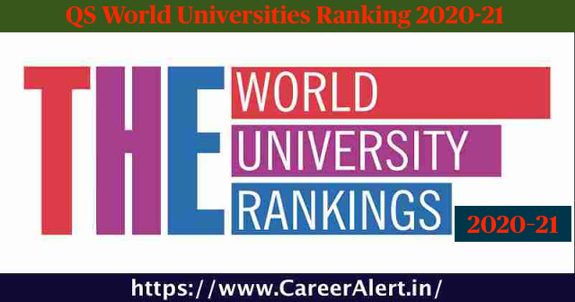 Indian Universities in QS World Ranking