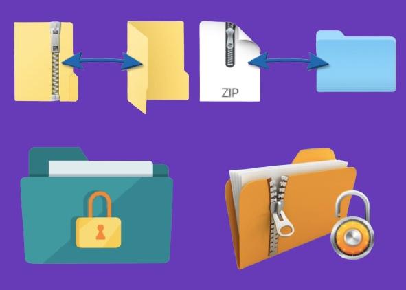 Extract Zip File, Unzip Compressed Folder