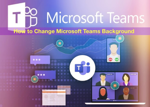 How to Change Microsoft Teams Background in Hindi